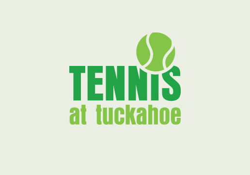 Tennis at Tuckahoe Business Card Design