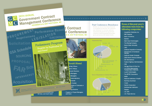 Conference Brochure; Direct Mail; Preliminary Program