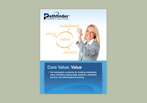 Pathfinder Payment Solutions Core Value: Value Wall Poster